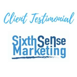 Sixth Sense Marketing Client Testimonial